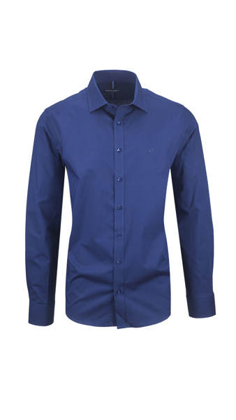 Picture of MEN'S STRIPED  BLUE SHIRT