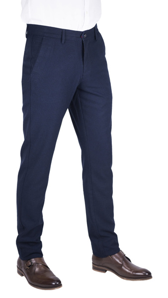 Picture of NAVY BLUE CHINO TROUSERS