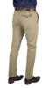 Picture of BEIGE CHINO TROUSERS WITH LEATHER DETAILS