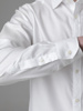 Picture of Men's fine cotton white shirt