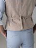 Picture of Pie de poule vest with back fastening