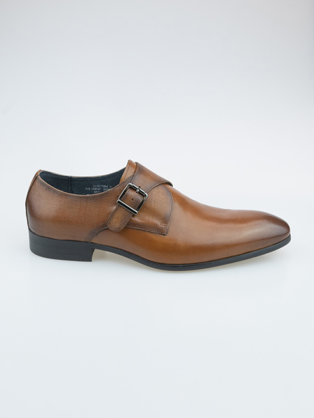 Picture of Men's leather monk shoes