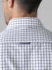 Picture of Men's cotton plaid shirt, semi cutaway, custom