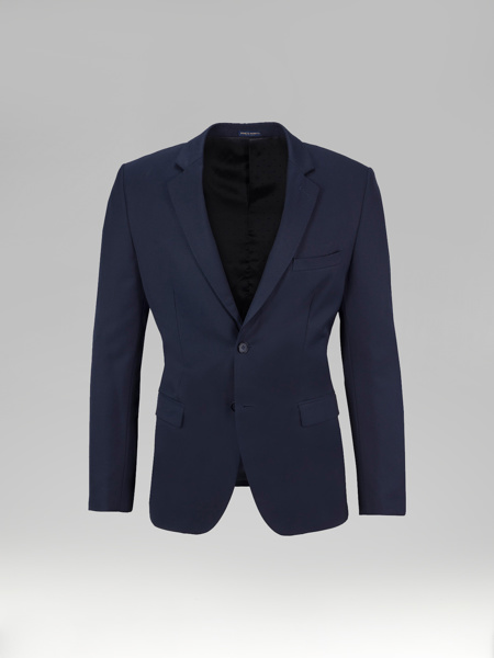 Picture of Wool single breasted blazer jacket of suit