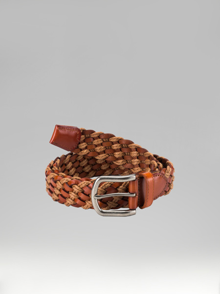 Picture of Knitted leather belt