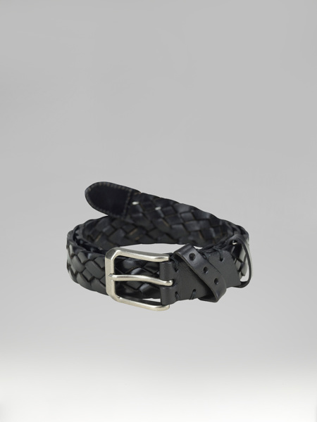 Picture of BLACK KNITTED BELT