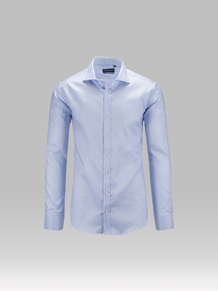 Picture of Cotton shirt cutaway collar