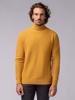 Picture of Men's turtleneck sweater pique weave