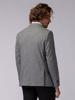 Picture of Men's singe breasted two button blazer jacket, small 'pie de poule' jacquard