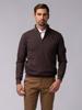 Picture of Men's zip high neck mélange sweater