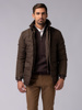 Picture of Men's parka quilted jacket with inner vest.