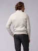 Picture of Men's crew neck braided knitwear sweater