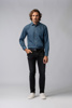 Picture of Men's washed blue jeans shirt