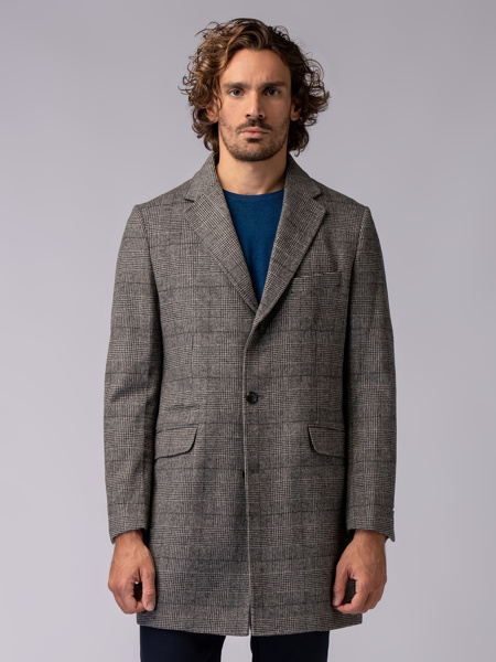 Picture of GRAY SQUARE COAT