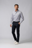 Picture of NAVY BLUE KAPARDINE CHINO TROUSERS