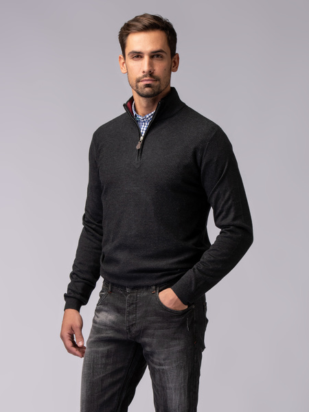 Picture of SOFT KNITTED WITH ZIPPER
