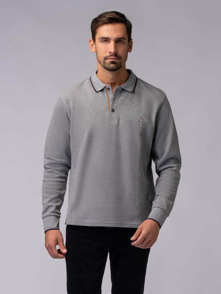 Picture of GRAY POLO BLOUSE