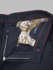 Picture of NAVY BLUE PLASTIC TROUSERS