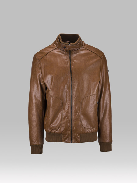 Picture of CAMELON LEATHER JACKET