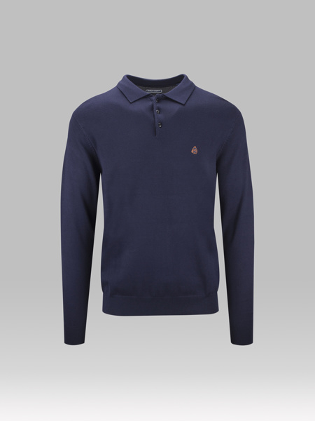 Picture of KNITTED POLO BLOUSE