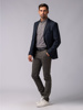 Picture of NAVY BLUE SINGLE WOOD JACKET