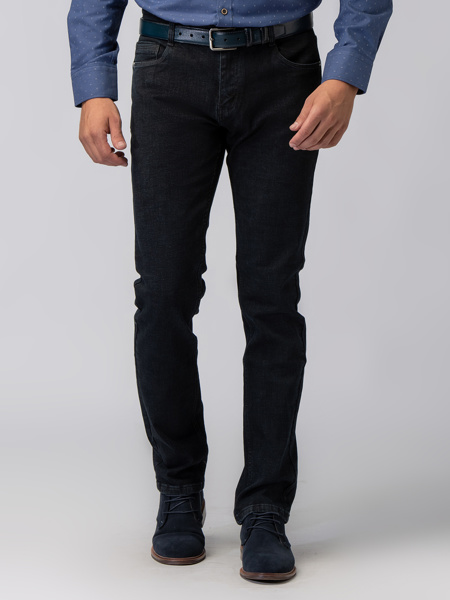 Picture of Men's  five-pocket blue jeans pants
