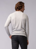 Picture of Men's braided knitwear sweater in crew neck