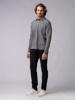 Picture of Men's long sleeve Polo pique single colour shirt