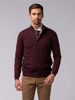 Picture of Men's sweater with high neck and hidden zip