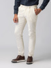 Picture of Men's corduroy pants with front pleats