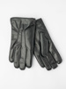 Picture of Men's leather gloves in black