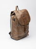 Picture of Men's brown backpack