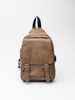 Picture of Men's unisex small brown backpack