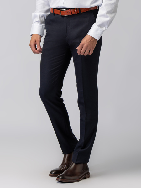Picture of Men's pants with cuffed hem-Assorted blazer